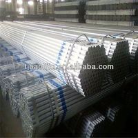 Galvanized liquid tubing