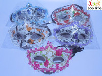 beauty simple design halloween masquerade party mask for girls mixed colors