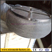 good quality stainless steel knitted mesh demister