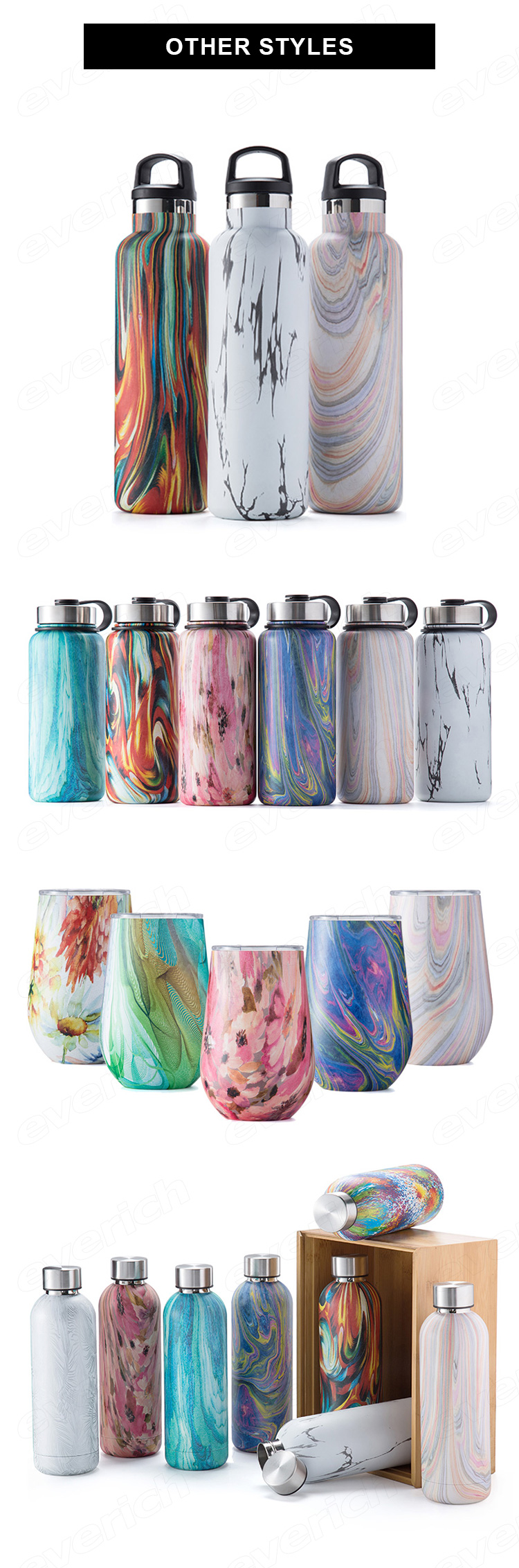 Hot cheap 350ml 500ml Double Wall Insulated Stainless Steel drink water bottle flask