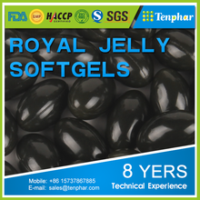 Private Labels 500mg Supplement Natural Royal Jelly Softgel Capsules