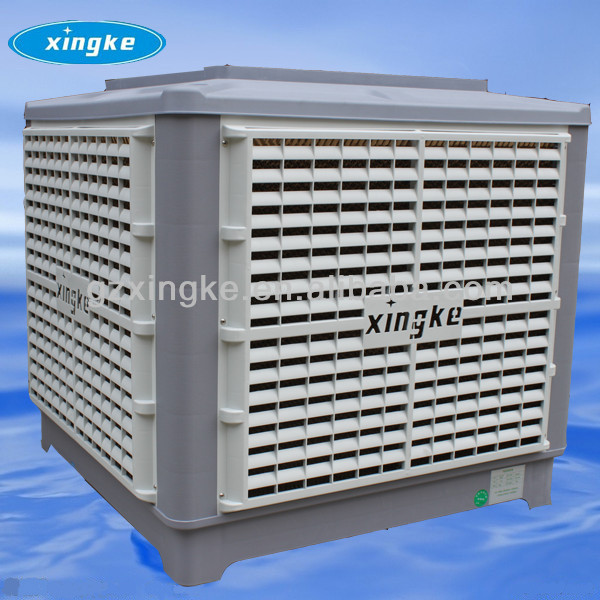CE approval industrial evaporative air cooler better than solar air conditioning /factory cooling system