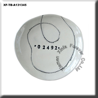 zip code ceramic round dishes