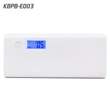 Kingberry Portable LCD display 10000 mah power bank custom logo