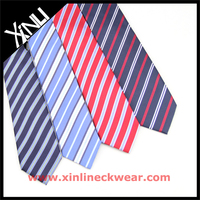 Polyester Neckties in Different Stripes School Neckties for Girls