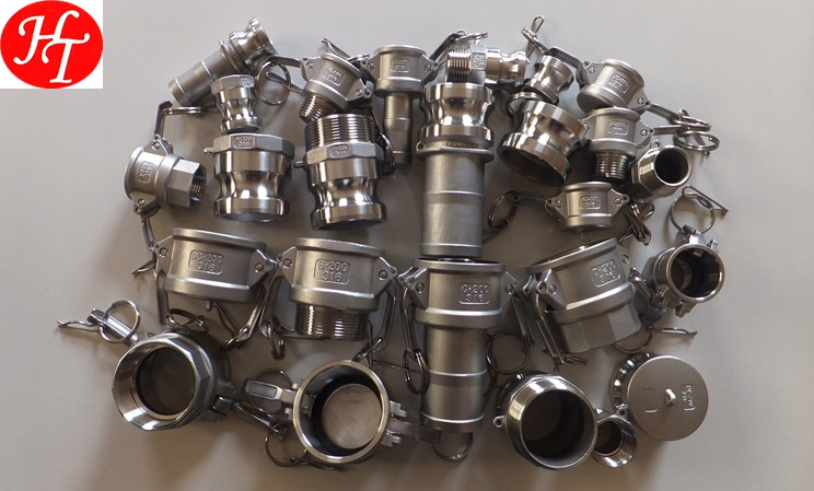 Professional stainless steel camlock coupling with competitive advantages