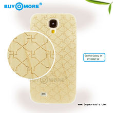 traditional New style hot sell high quality wood carved mobile case phone cases for samsung s4