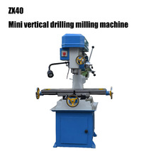 ZX40 normal type mini vertical drilling milling machine