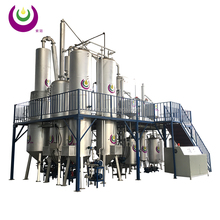 Waste Oil Distillation & Convert into diesel or Base Oil System/ high-output engine oil distillation system