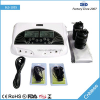 Bless-1035 natural detox and cleanse foot ion detox machine