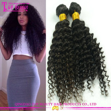 Factory price afro kinky hair extensions top sale China alibaba brazilian virgin remy afro kinky human hair