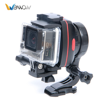 New Arrival SportX1 Brushless Handheld Gimbal Camera Gyro Stabilizer for Go Pro 4/3+/3 Xiaoyi AEE SJCAM