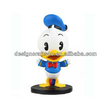 Resin Donald Duck 3D bobble head