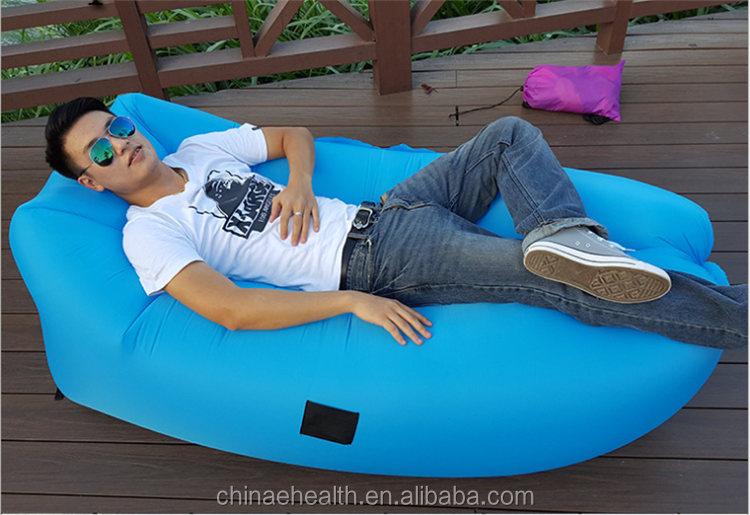Air Filling season cheap inflatable sleeping lounger sofa bed