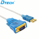 USB 2.0 to RS232 DB9 serial adapter converter Cable 3M with FTDI chipset
