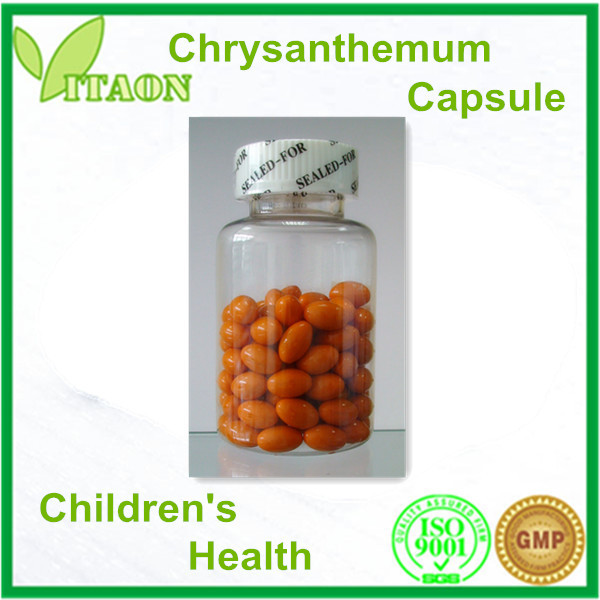 450 mg ISO,GMP Certificate and OEM,Private Label Chrysanthemum Softgel for Dietary Supplement