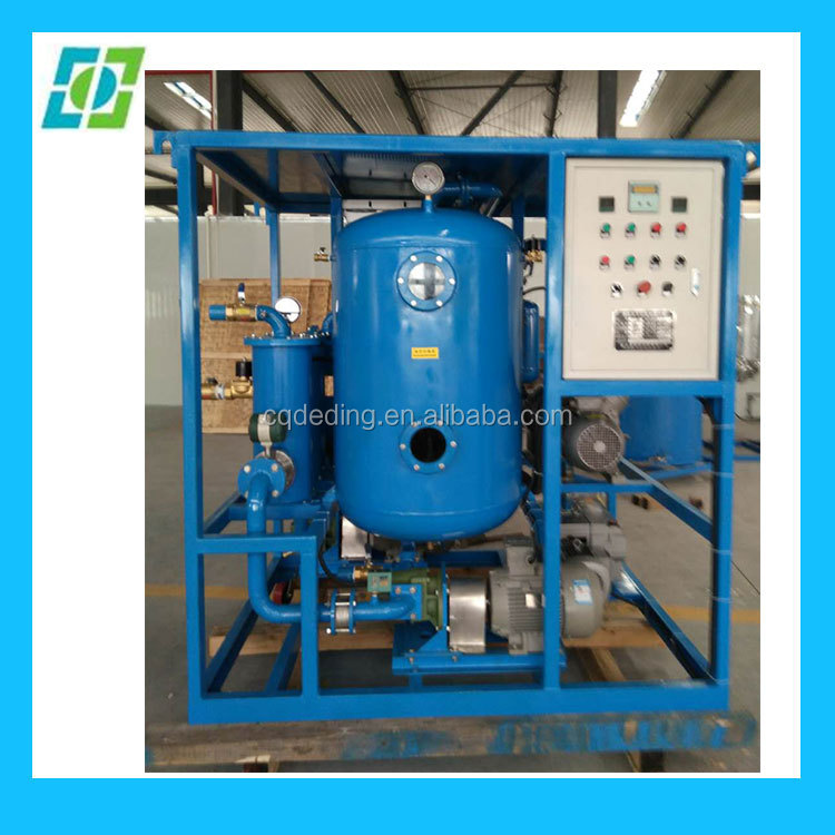 ZYD Double Stage High Vacuum Portable Transformer Oil Filtration Machine