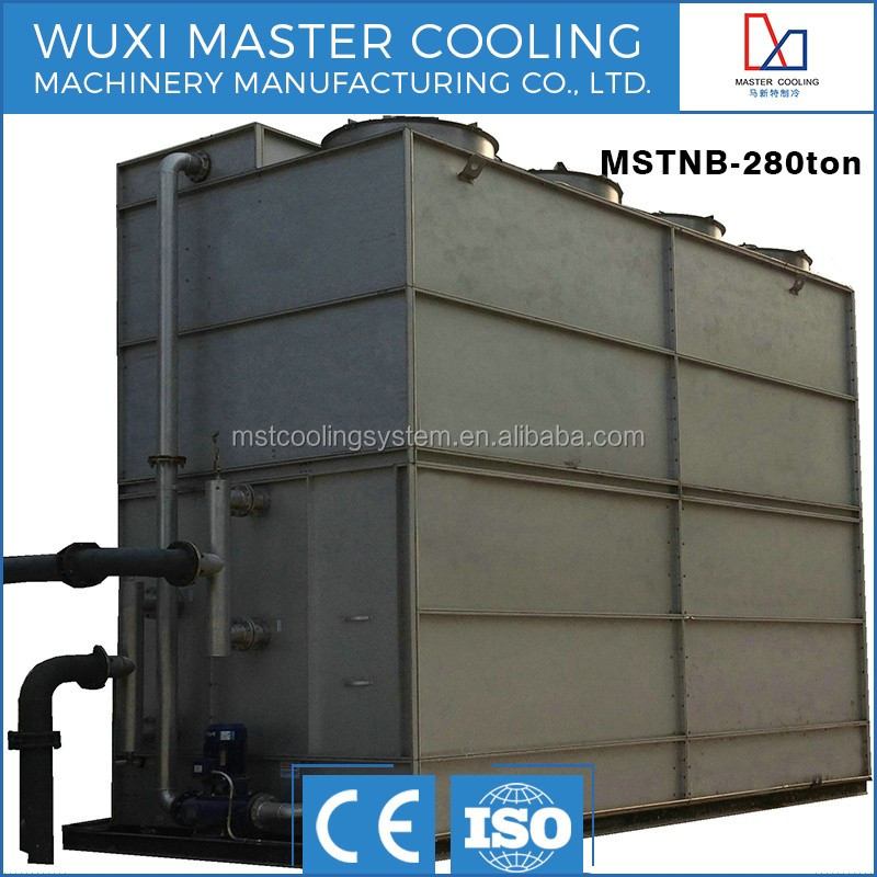 100 Ton Closed Circuit Counter Flow MST Superdyma Water Cooling Tower Manufacturer Cooling Machine For Air Compressor