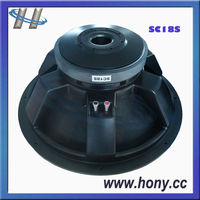 "18"" High Power 1000 W Subwoofer"