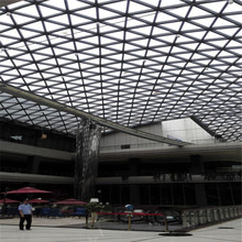 Electrical supplier steel structure fabrication for shopping mall