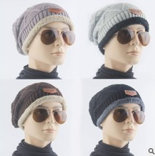 wholesale high quality soft warm custom design women cool winter hats for men