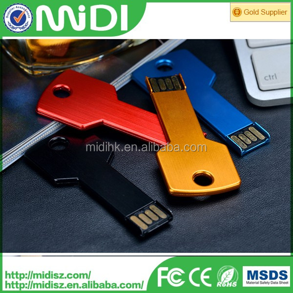 OEM logo nice design key shape USB flash drive 2.0 4gb 8gb 16gb best usb stick