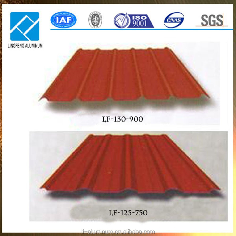 Chine m tal aluminium plaque ondul e pour toiture planches d 39 aluminium id - Plaque ondulee pour toiture ...