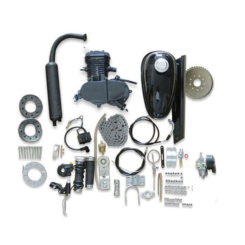 Petrol <strong>motor</strong> Wholesale motorized 2 stroke bike 48cc 49cc 50cc 60cc 66cc 80cc bicycle gasoline engine kit for bicycle