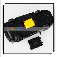 TB869-50 1:14 Radio Control High Speed Racing Car with Light Black