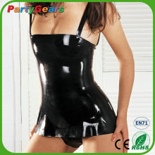 Cheap Factory Wholesale Fetish Latex Rubber Plus Size Catsuit Costumes Clothing Sexy Dress for Women