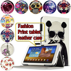 "For Samsung GALAXY Tab P7300 8.9"" Floral PrintingTablet Leather Case Cover Folio Stand Leather Case"