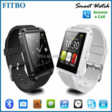 Lastest Slim Calorie Counter Caller ID Anti Lost U8 A1 watch phone for huawei P9 lite