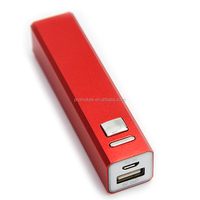 small size portable battery charger 2200mah