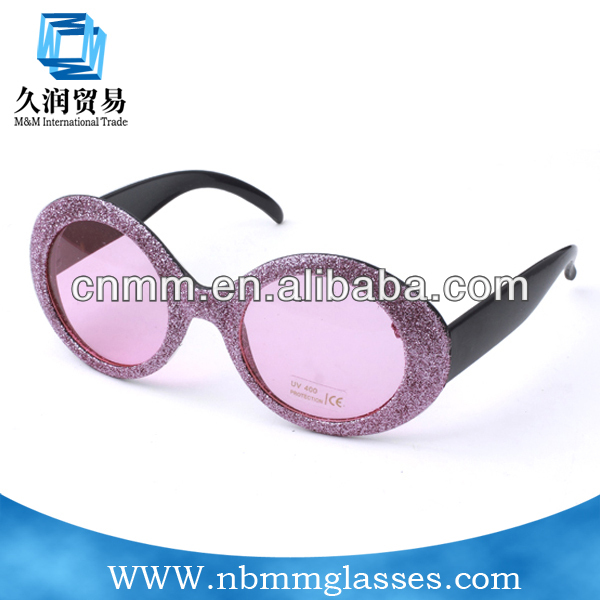 2016 sunglasses fashion ice-watch color series oval frame neon color frame Easter egg shape sunglasses