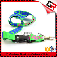 Screen Printing short lanyard key chain