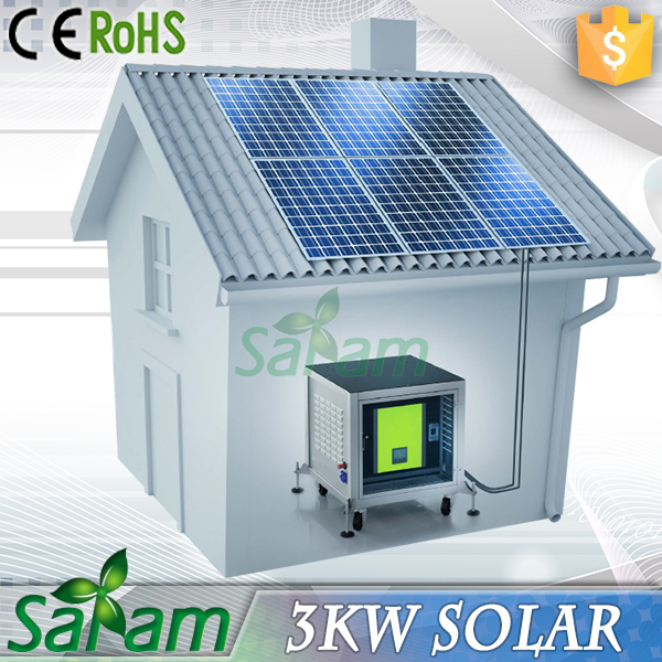 China Complete 3KW Solar Panels Set For Sale