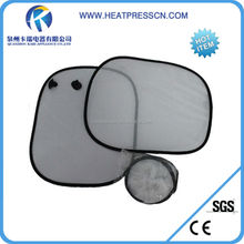 Easy to take up and down sublimaiton Car Sunshade Set