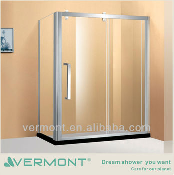 luxury stainless steel sliding door