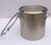 Promotion food grade stainless steel milk churn milk drum for sale