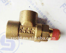 transmission gearbox pipe joint for truck, valve F99660