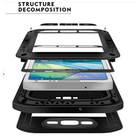 Tpu + Pc Screen Touchable Armor Waterproof Case For Moto g