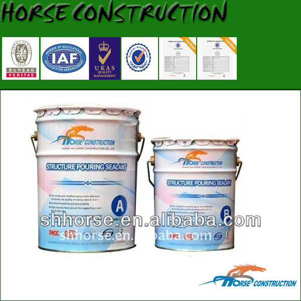 HM-120L Strong Penetration Pouring Concrete Crack Repair Adhesive