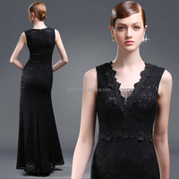 V neck split dresses women sexy lace long maxi designer one piece party dress for evening
