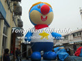 giant inflatable cartoon character