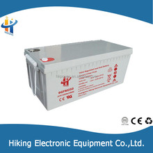 Exporter Hiking VRLA 12v 240 ah solar deep cycle battery