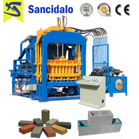 Best price of QT4-15 germany technology automatic color paver block machine
