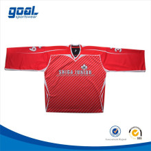 High quality custom made reversible sublimation ice hockey jerseys