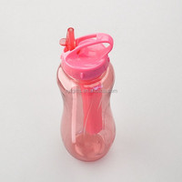800ml unique design cold plastic water bottle with ice stick