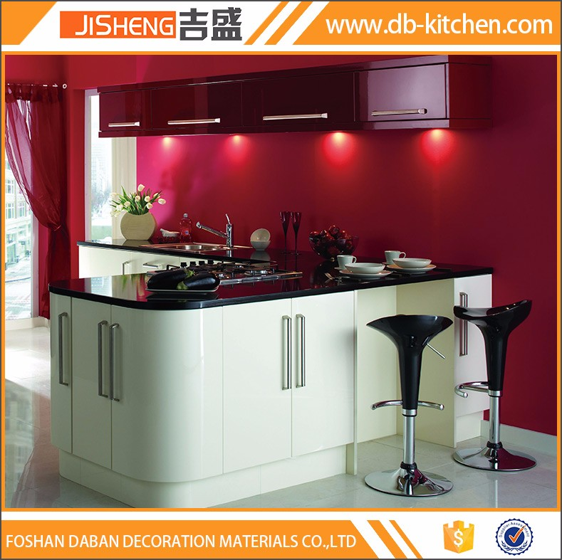 China lacquer mdf new model kitchen cabinet wholesale for Chinese kitchen cabinets wholesale