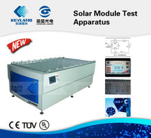Horizontal Solar Module Testing Machine for GTM AAA 2014 solar production line